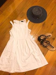 (Dotti) Women white dress