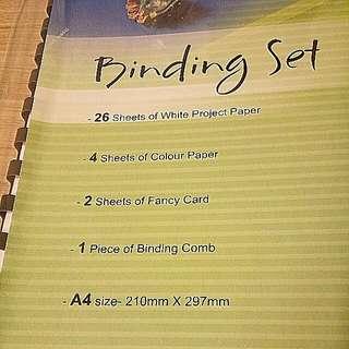 Binding Set (Brand New)
