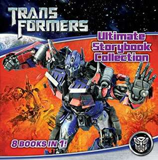 Transformers: Ultimate Storybook Collection by Hasbro. 2004 -  First Edition ( Hardcover )