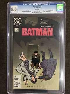 BATMAN #404 CGC 8.0