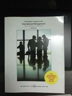 International management (ninth edition)