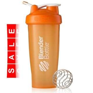 BlenderBottle Classic, 828ml/28oz Orange inc. Blender Wire Whisk
