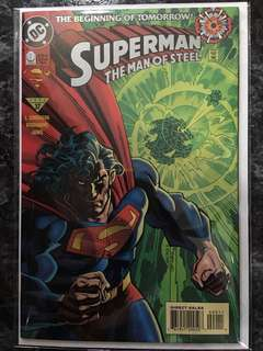 SUPERMAN THE MAN OF STEEL #0