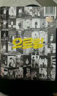 EXO GROWL REPACKAGE ALBUM