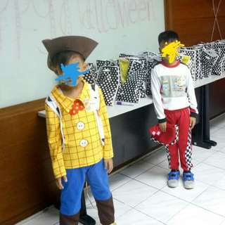 Used character costumes