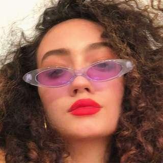 Readystock Purple Lucie Sunglasses