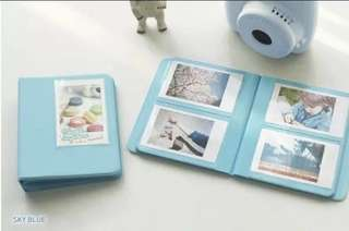 Polaroid album (Sky Blue)