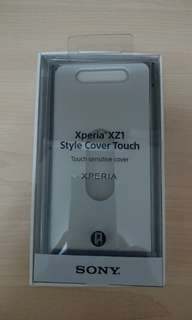 Sony Xperia XZ1 touch sensitive cover (blue)