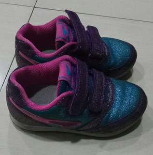 Glittered Rubber shoes
