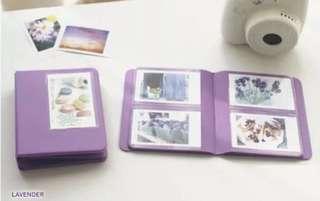Polaroid album (Purple)