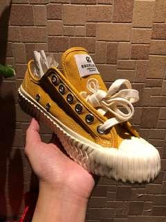 🚚 Excelsior 餅乾鞋 韓國代購正版 芥末黃
