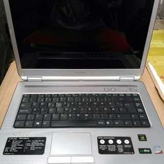 DEFECTIVE Sony Vaio Laptop