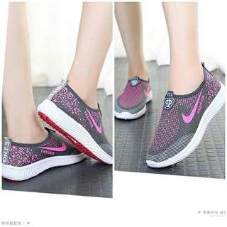 SS1796-Sepatu Sport Fashion Slip On Import