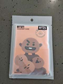 BT21 Shooky RJ passport case