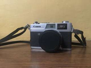Canon Canonet QL19 film camera