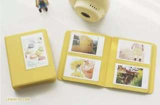 Polaroid Album (Yellow)