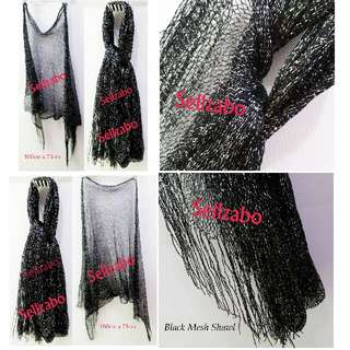 #S13 Black Shawl