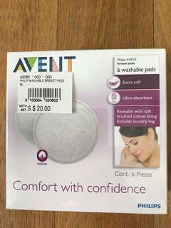 *Brand New* Philips Avent Washable Breast Pads