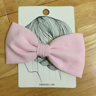 Forever 21 Pink Hair Bow