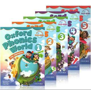 Oxford Phonics World (5student books+5workbook+10CDs)