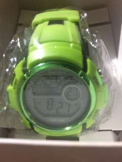 Authentic Unisilver Green Watch