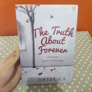 Novel The Truth About Forever