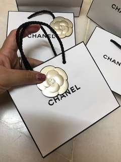 Chanel small paper bags