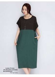 LOOSE DRESS Fits S To L  Price : 450