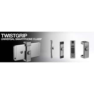 🚚 全新僅拆封!Manfrotto 曼富圖 TwistGrip CLAMP 智慧型手機夾 可接補光燈 冷靴座