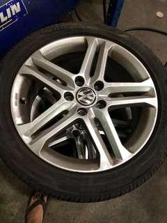 Volkswagen 17inch Sportline Rims 5x112