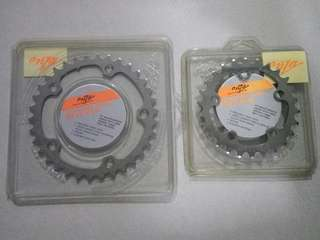 Onza buzz saw stainless steel chainring