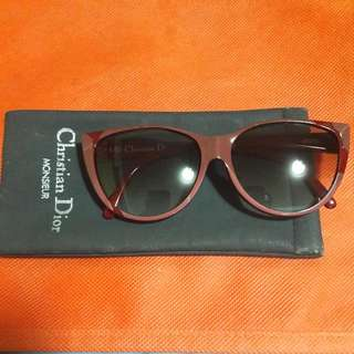 Retro Aurhentic  Christian Dior Sunglass