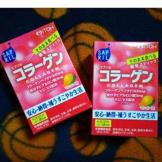 Mango Collagen with Vit C & E.