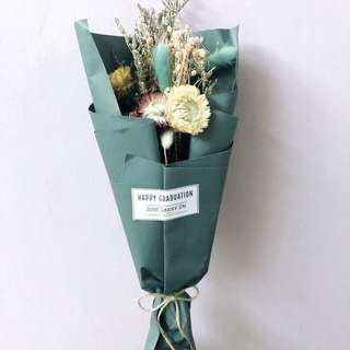 Dried Flower Bouquet - #gift #graduation #birthday #greeting #thankyou