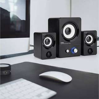 X7 USB Powered Speakers System for Gaming/Music/Movies