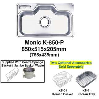 Korea Stainless Steel Sink