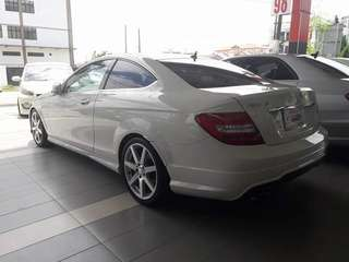 Mercedes AMG Coupe Unregister
