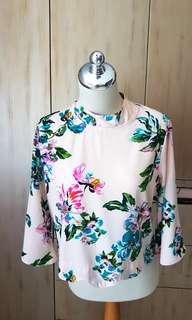 Flower blouse nett