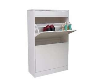 Adrianne Shoe Cabinet 2 Drawer Shoe 1 Drawer Accessories