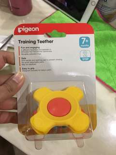 Brand new pigeon teether 7 Mths up