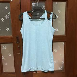 Tank Top in baby blue