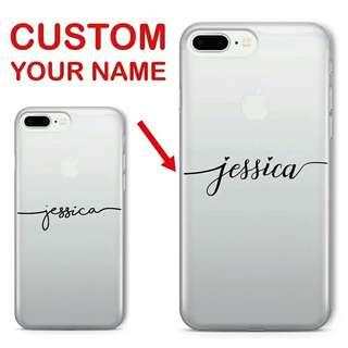 Name Customise Case