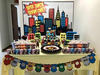 Superhero Theme Party Rental