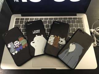 We bare bear iPhone phone case 7/8/plus/X