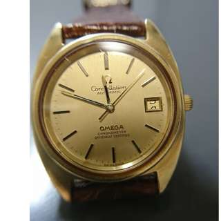 Omega Constellation chronometer自動日曆天文台錶