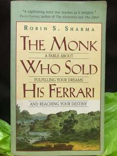 The Monk Who Sold His Ferrari by Robin S.Sharma