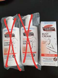 BN Palmer's Cocoa Butter Formula Bust cream for Stretch marks