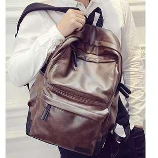 Casual Backpack in Brown