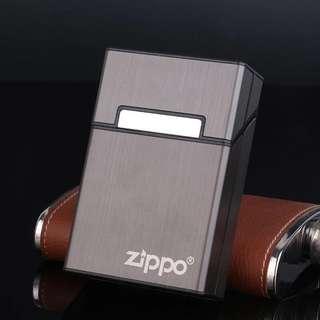 超薄鋁合金 磁扣 煙盒翻蓋 盒子 可印字 20支裝