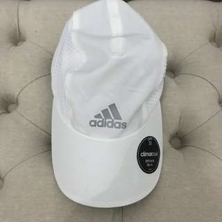 White ADIDAS cap BRAND NEW